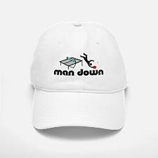 man down ponger Baseball Baseball Cap