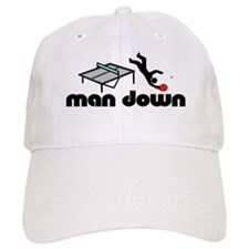 man down ponger Baseball Cap