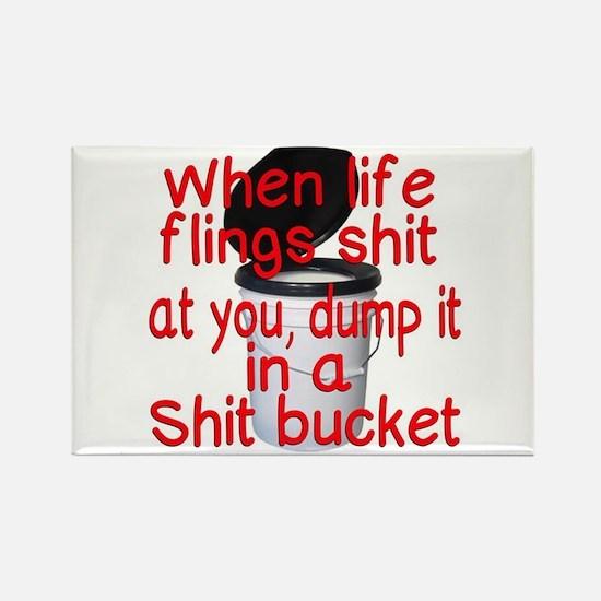 Shit bucket Magnets