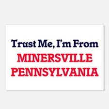 Trust Me, I'm from Miners Postcards (Package of 8)