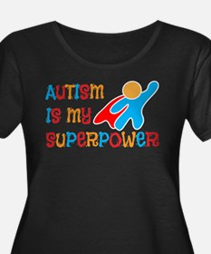 Cute Autism Plus Size T-Shirt
