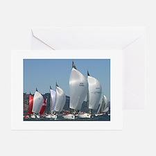 sailing + yacht racing photos Greeting Cards (6) G