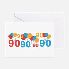 90 years old - 90th Birthday Greeting Cards