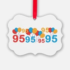 95 years old - 95th Birthday Ornament