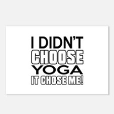 Yoga It Chose Me Postcards (Package of 8)