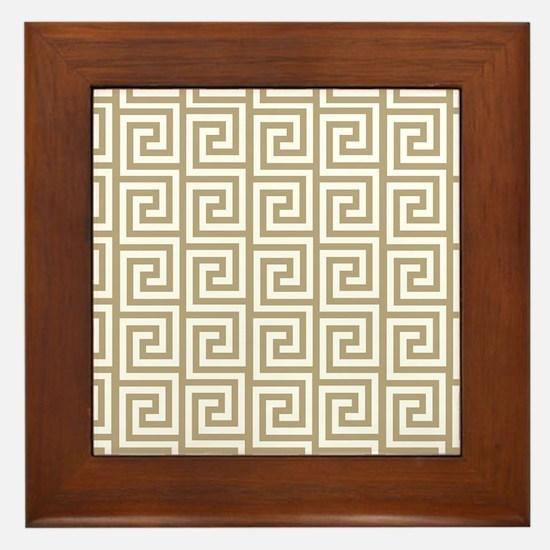 Funny Medium Framed Tile