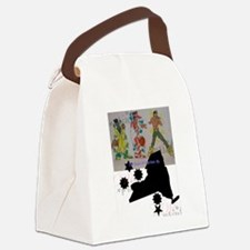 Cute Creative and fine arts Canvas Lunch Bag