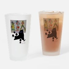 Cute Creative and fine arts Drinking Glass