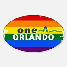 One Orlando Strong Pulse Decal