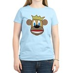 Monkey With Crown Women's Light T-Shirt