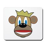 Monkey With Crown Mousepad