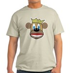 Monkey With Crown Light T-Shirt