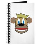 Monkey With Crown Journal