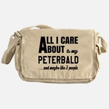 All I care about is my Peterbald Messenger Bag