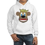 Monkey With Crown Hooded Sweatshirt