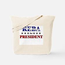 REBA for president Tote Bag