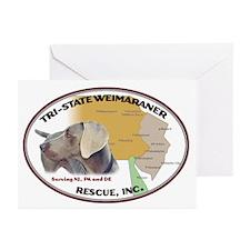 Original TSWR Logo Greeting Cards (Pk of 10)