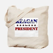 REAGAN for president Tote Bag