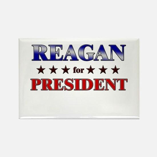 REAGAN for president Rectangle Magnet