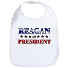 REAGAN for president Bib