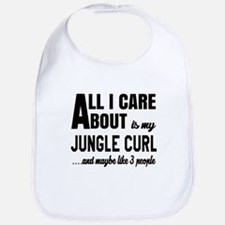 All I care about is my Jungle-curl Bib