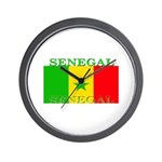 Senegal Senegalese Flag Wall Clock