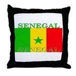 Senegal Senegalese Flag Throw Pillow