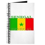Senegal Senegalese Flag Journal
