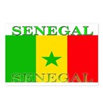 Senegal Senegalese Flag Postcards (Package of 8)