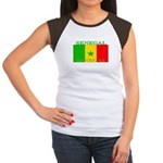 Senegal Senegalese Flag Women's Cap Sleeve T-Shirt