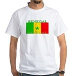 Senegal Senegalese Flag White T-Shirt