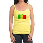 Senegal Senegalese Flag Jr. Spaghetti Tank