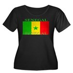 Senegal Senegalese Flag Women's Plus Size Scoop Ne