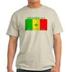 Senegal Senegalese Flag Light T-Shirt