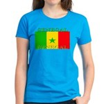 Senegal Senegalese Flag Women's Dark T-Shirt
