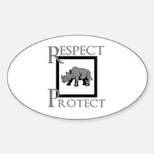 Protect Rhinos Decal