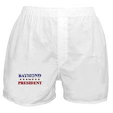 RAYMOND for president Boxer Shorts