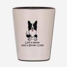 Unique Collie Shot Glass