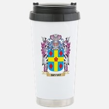 Bryant Coat of Arms (Fa Stainless Steel Travel Mug