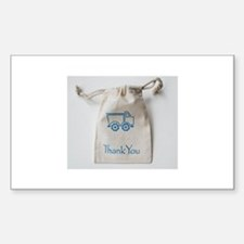 Cotton Muslin Bag/ Cotton Pouch Decal