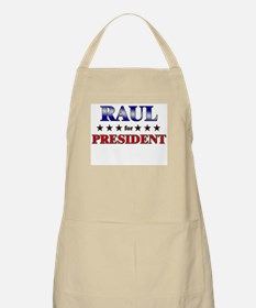RAUL for president BBQ Apron