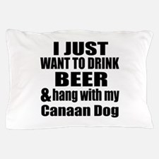 Hang With My Canaan Dog Pillow Case