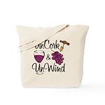 UnCork & UnWind Tote Bag