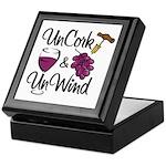 UnCork & UnWind Keepsake Box