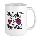 UnCork & UnWind Large Mug