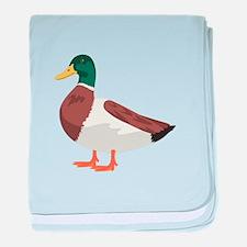 Mallard Duck baby blanket