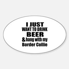 Hang With My Border Collie Decal