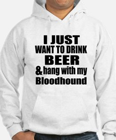 Hang With My Bloodhound Hoodie