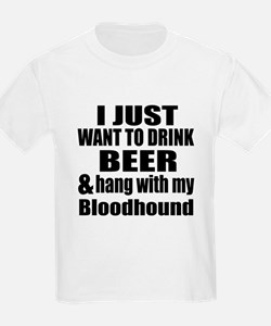Hang With My Bloodhound T-Shirt