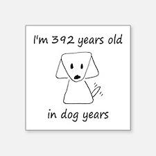 56 Dog Years 6-2 Sticker